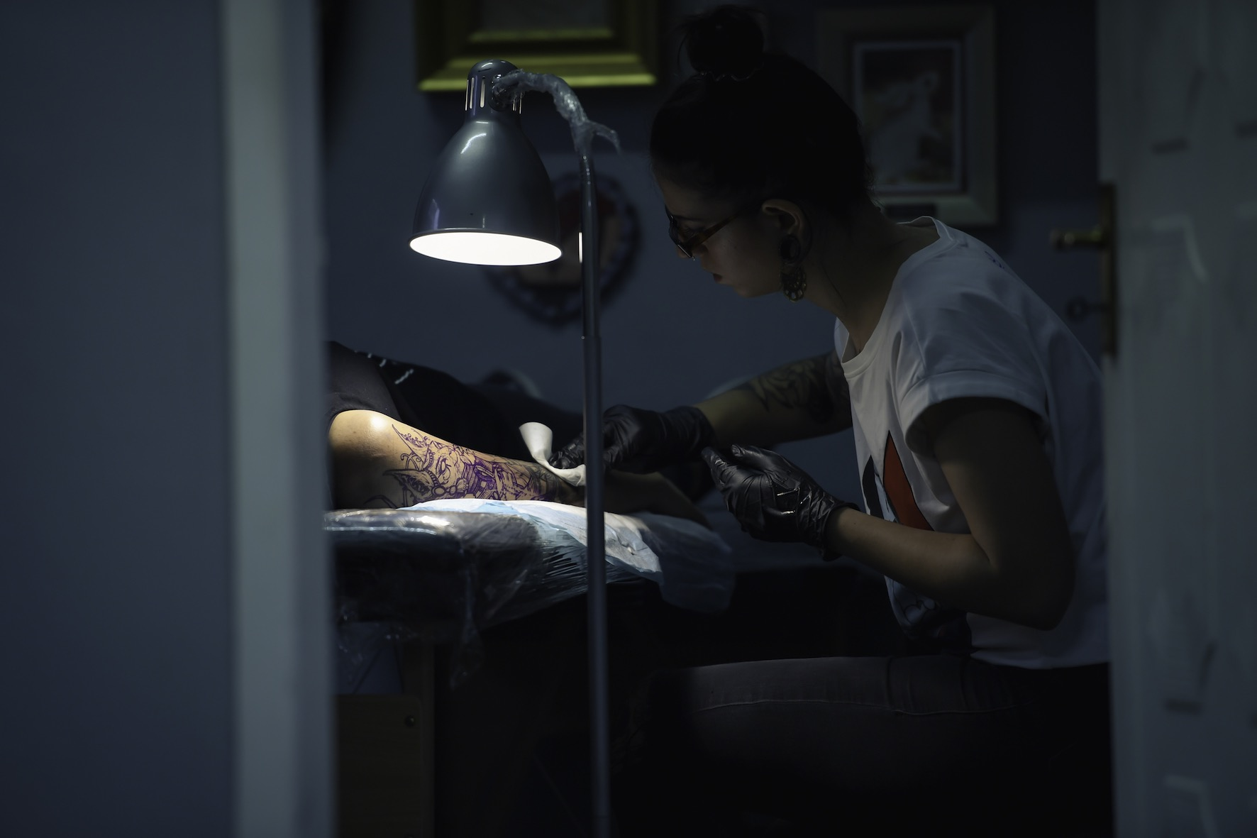 Meet tattoo artist Rocio Todisco working out of The Black Lodge