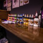 Tattoo ink collection at the The Heart Collective tattoo studio