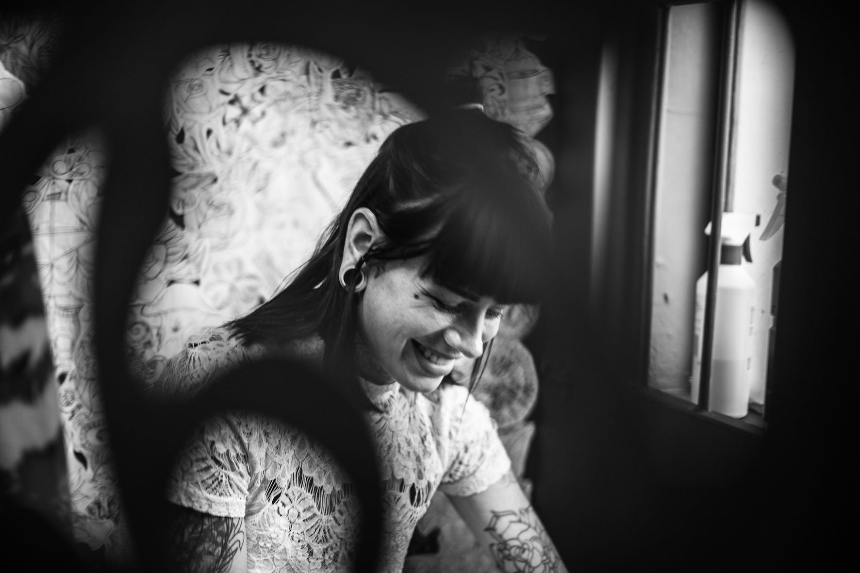 Tattoo artist interview with Chelsea-Rae Marsh working our of The Heart Collective
