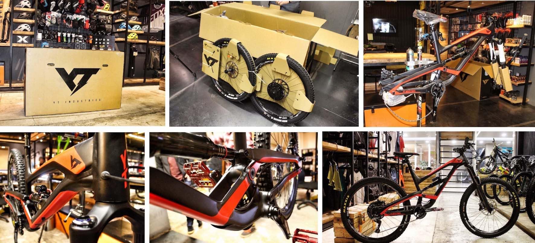 Unboxing the all new 2018 YT Industries Capra AL Comp Enduro MTB