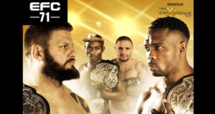 EFC 71 brings with it 12 exciting MMA fights