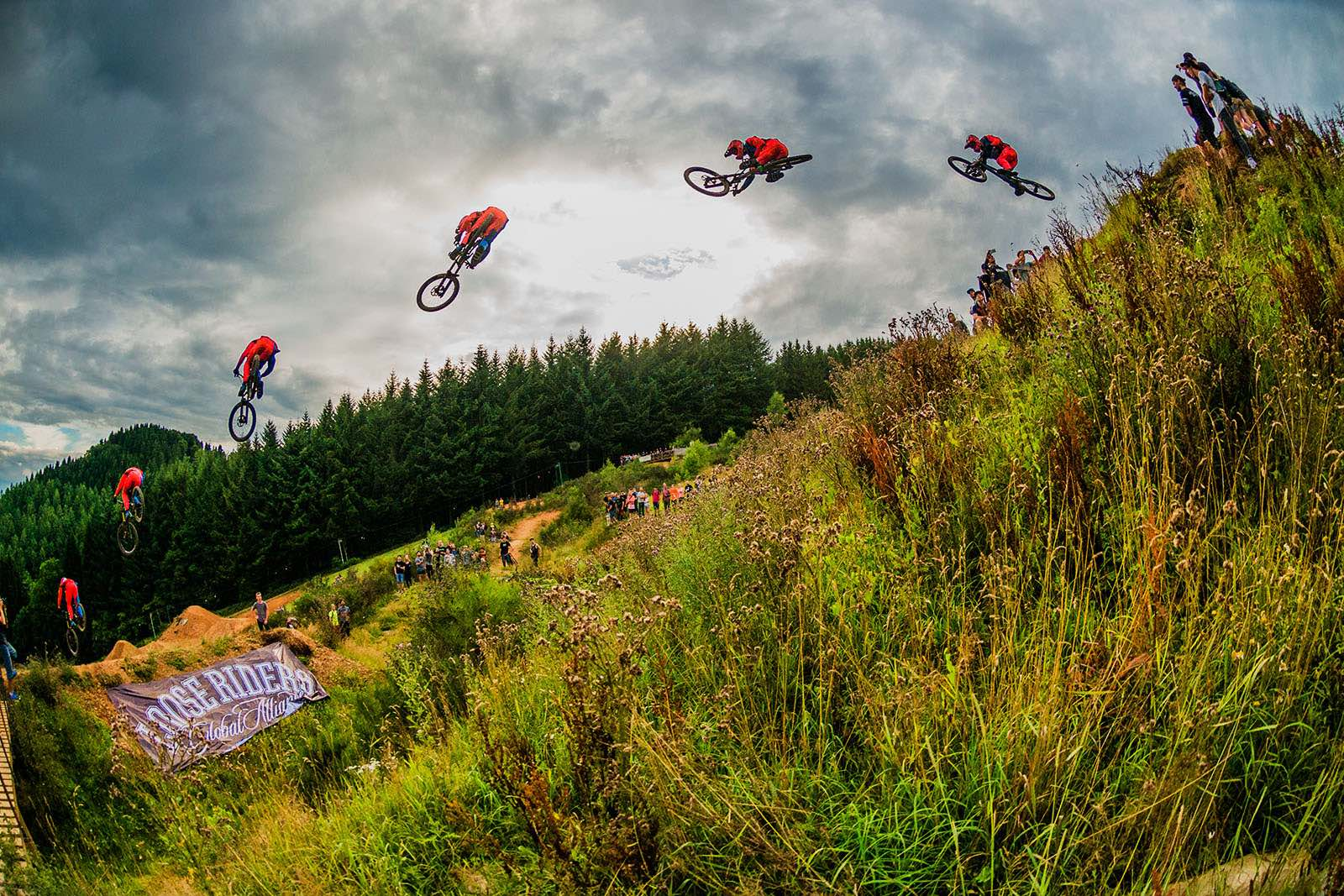 MTB line from the Loosefest Series