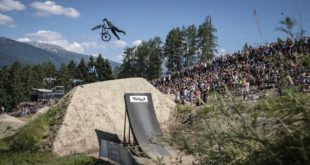Watch the highlights video from stop 2 of the 2018 Crankworx Slopestyle World Tour from Innsbruck, Austria, where the world's best Freestyle MTB riders put on an epic show.