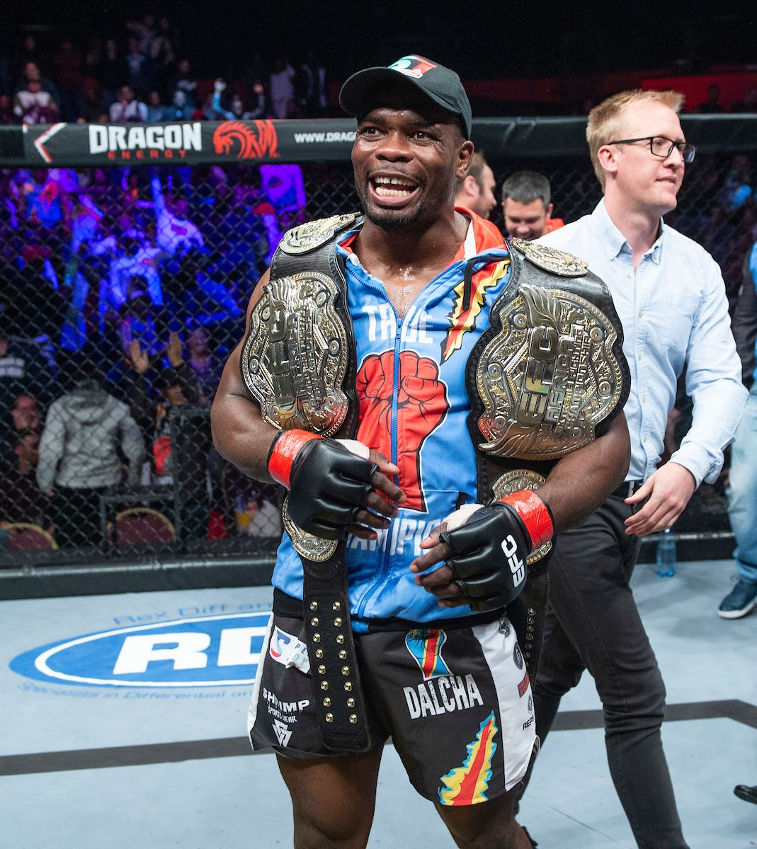 Champion Dalcha wins the EFC Heavyweight title