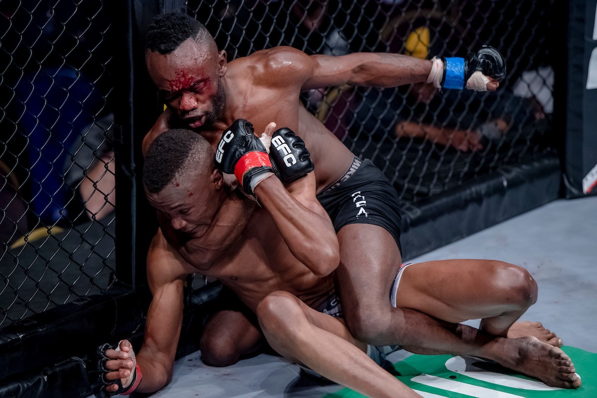 EFC 71 produced 12 exciting Mixed Martial Arts fights