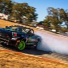 Jason Webb drifting his way to victory at round 2 of the 2018 SupaDrift Series