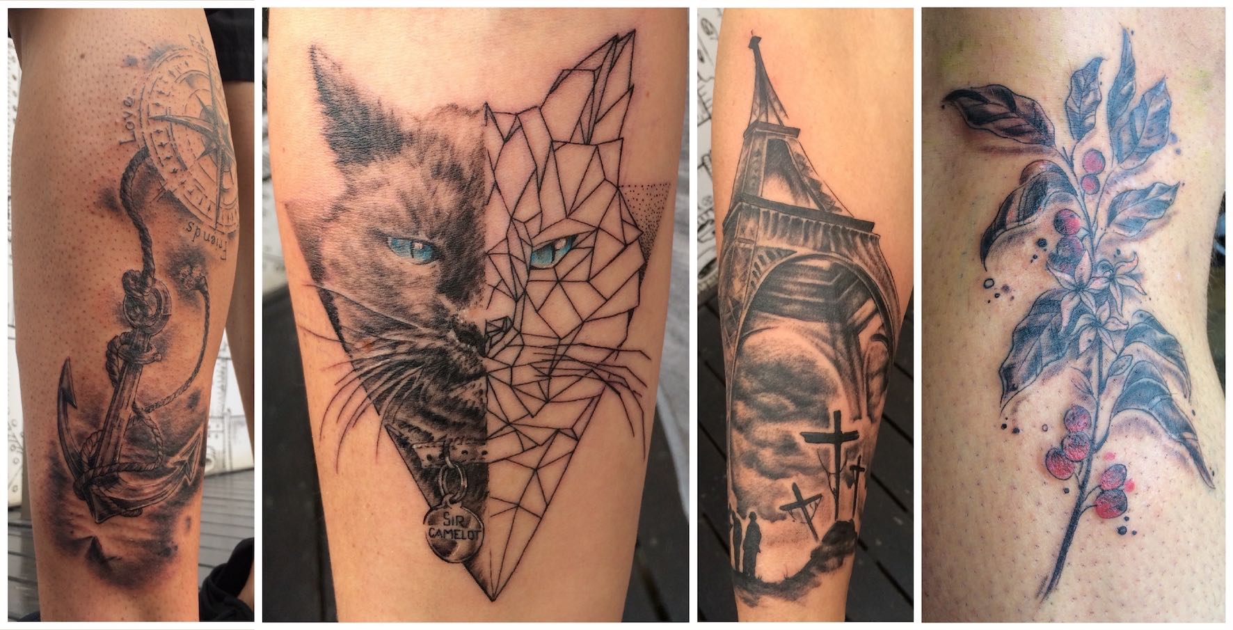 Tattoos done by Sean Pengilly