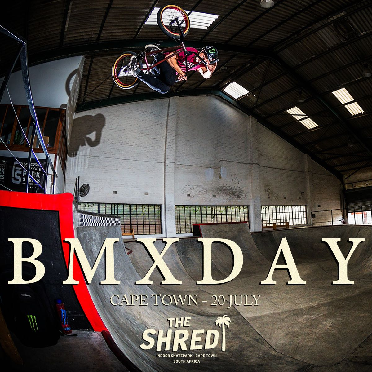 Details for #BMXDAY 2018 taking place at The Shred Skatepark in Cape Town