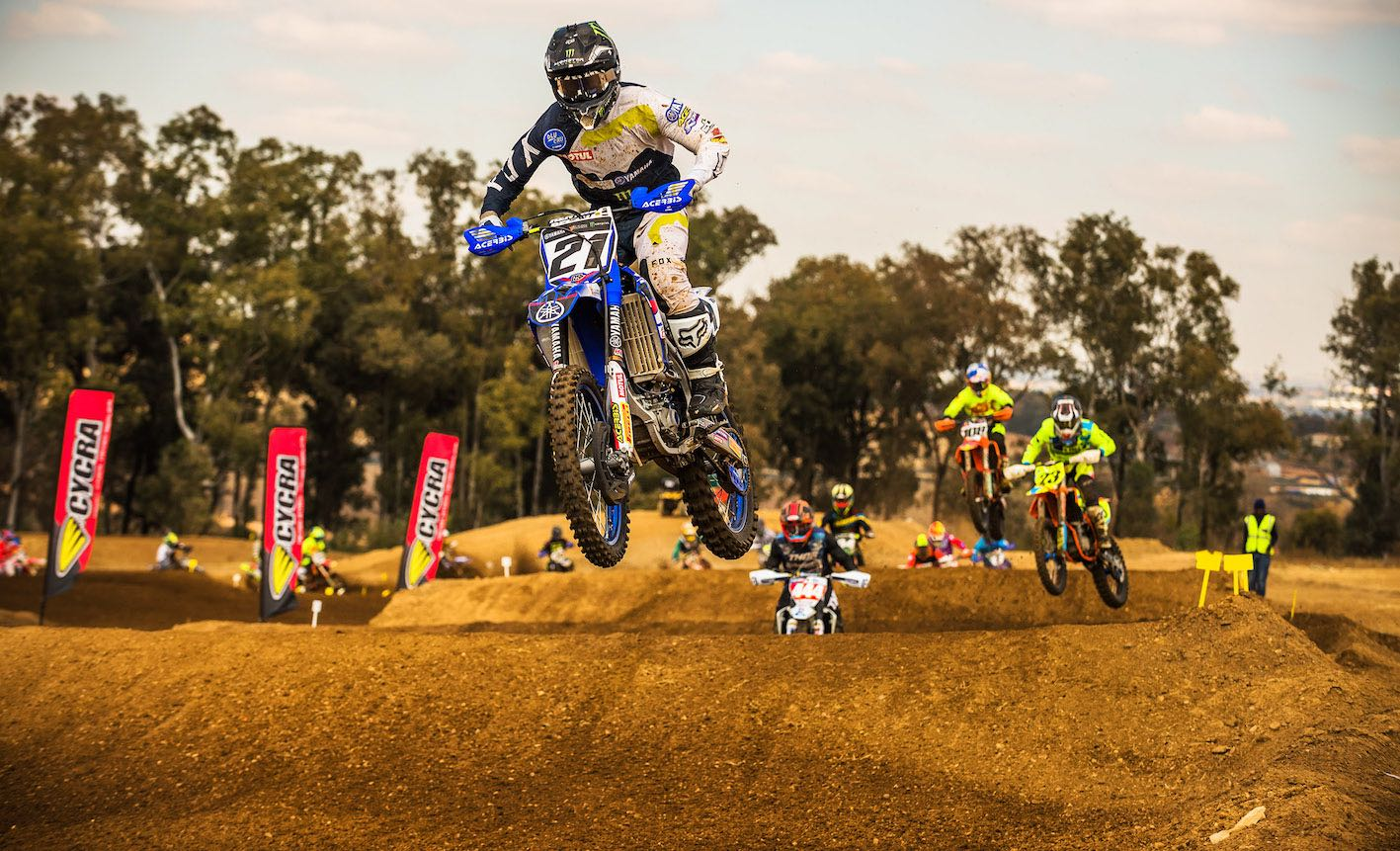 Motocross action at its best at the Terra Topia National