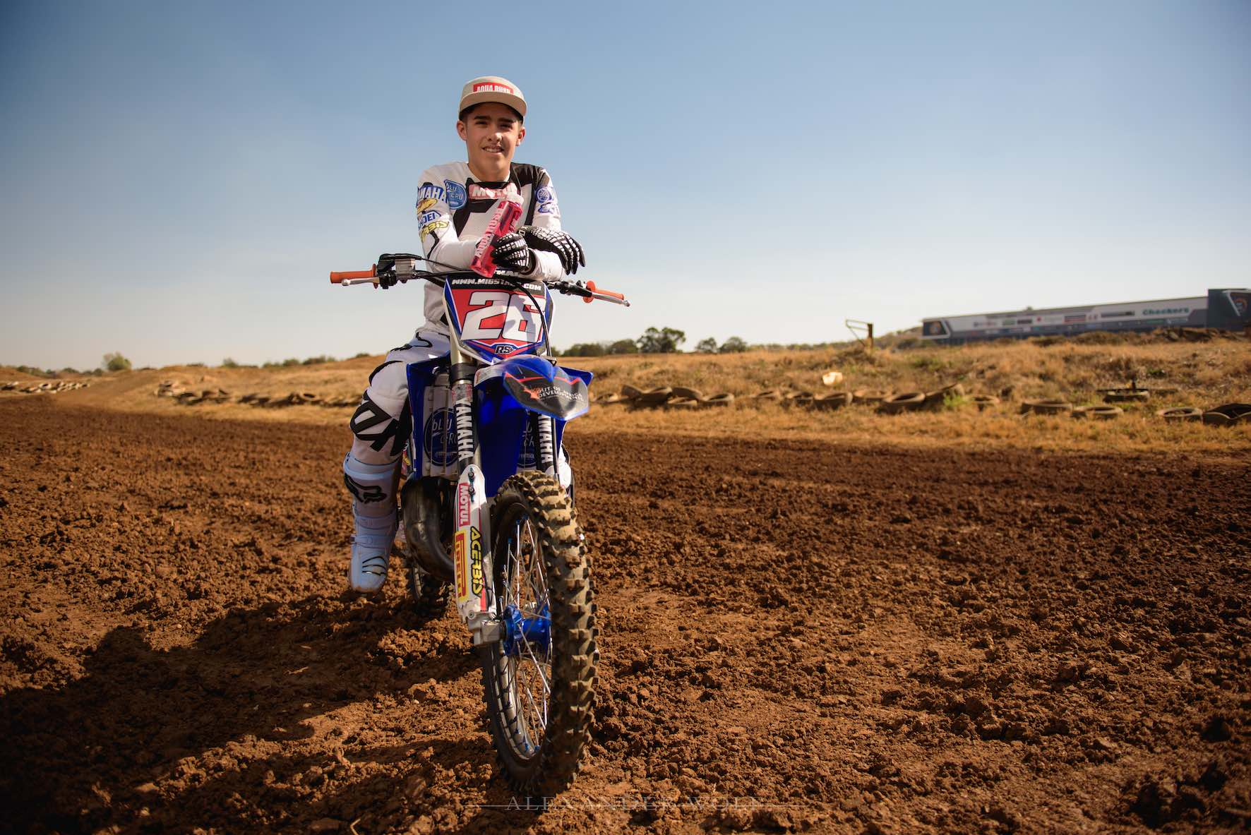 Meet Up and Coming Motocross Rider Miguel de Waal