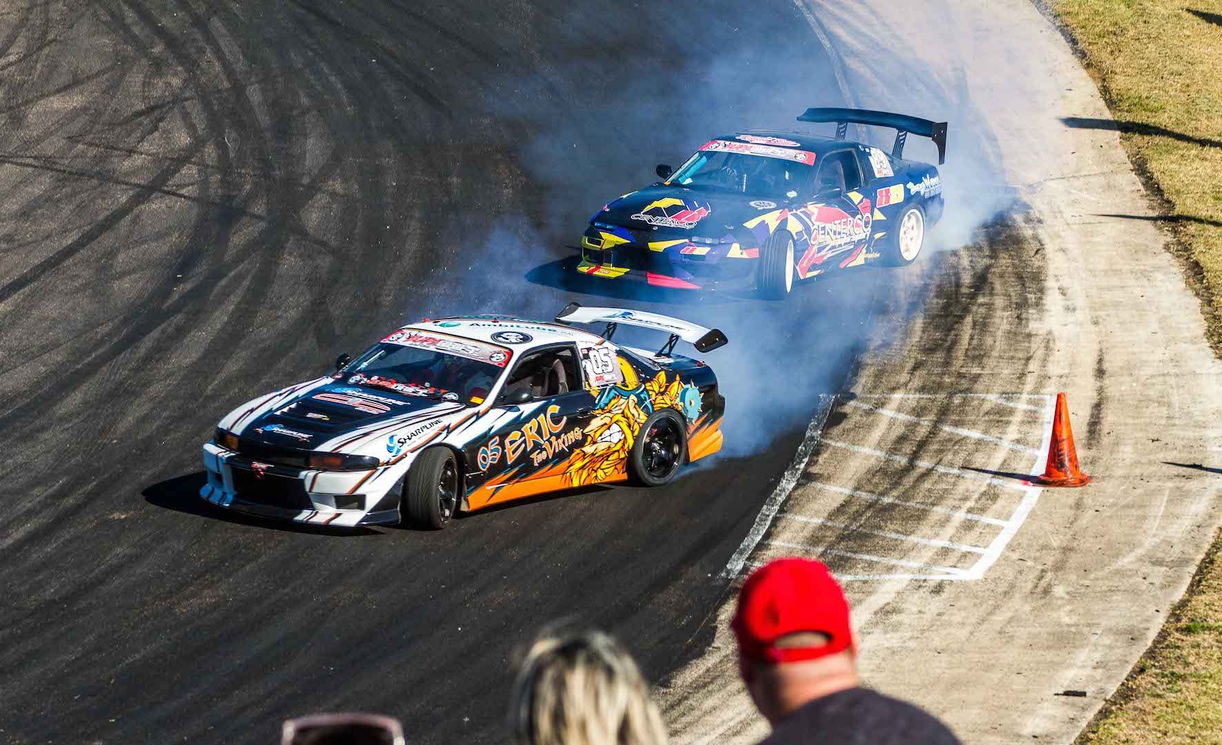Round 2 of the 2018 SUpaDrift Series saw top class drifting action