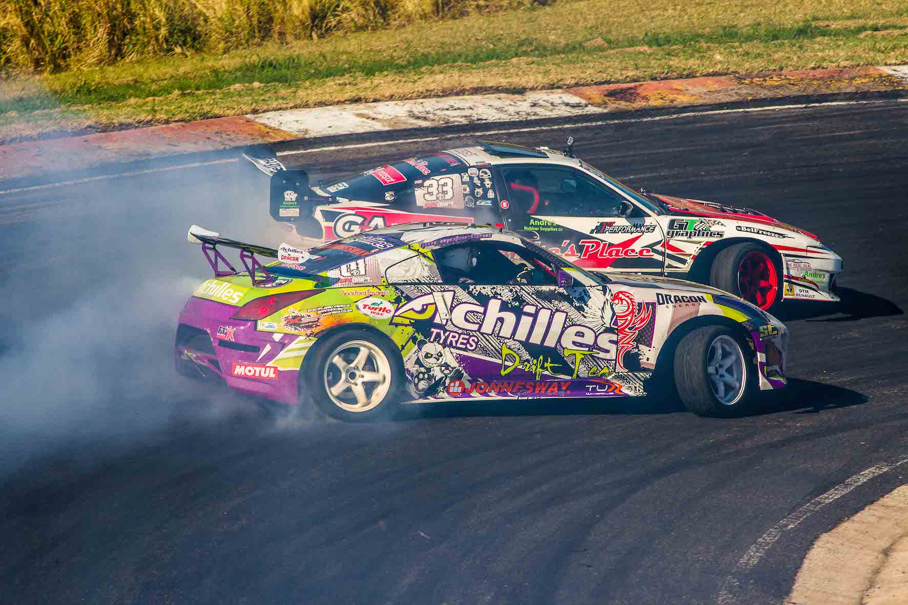 Jim Mc Farlane drifting his way to the final at the third round of the 2018 SupaDrift Series