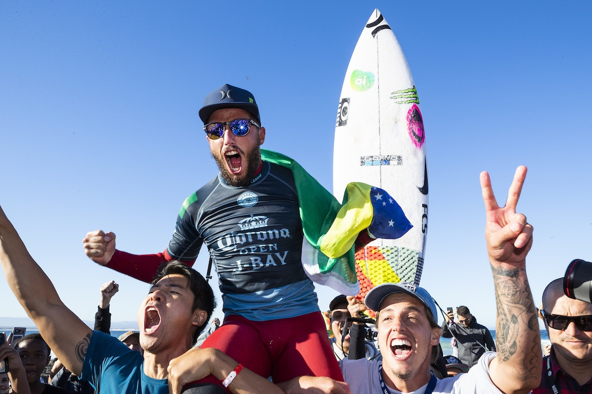 Filipe Toledo wins the 2018 Corona Open J-Bay