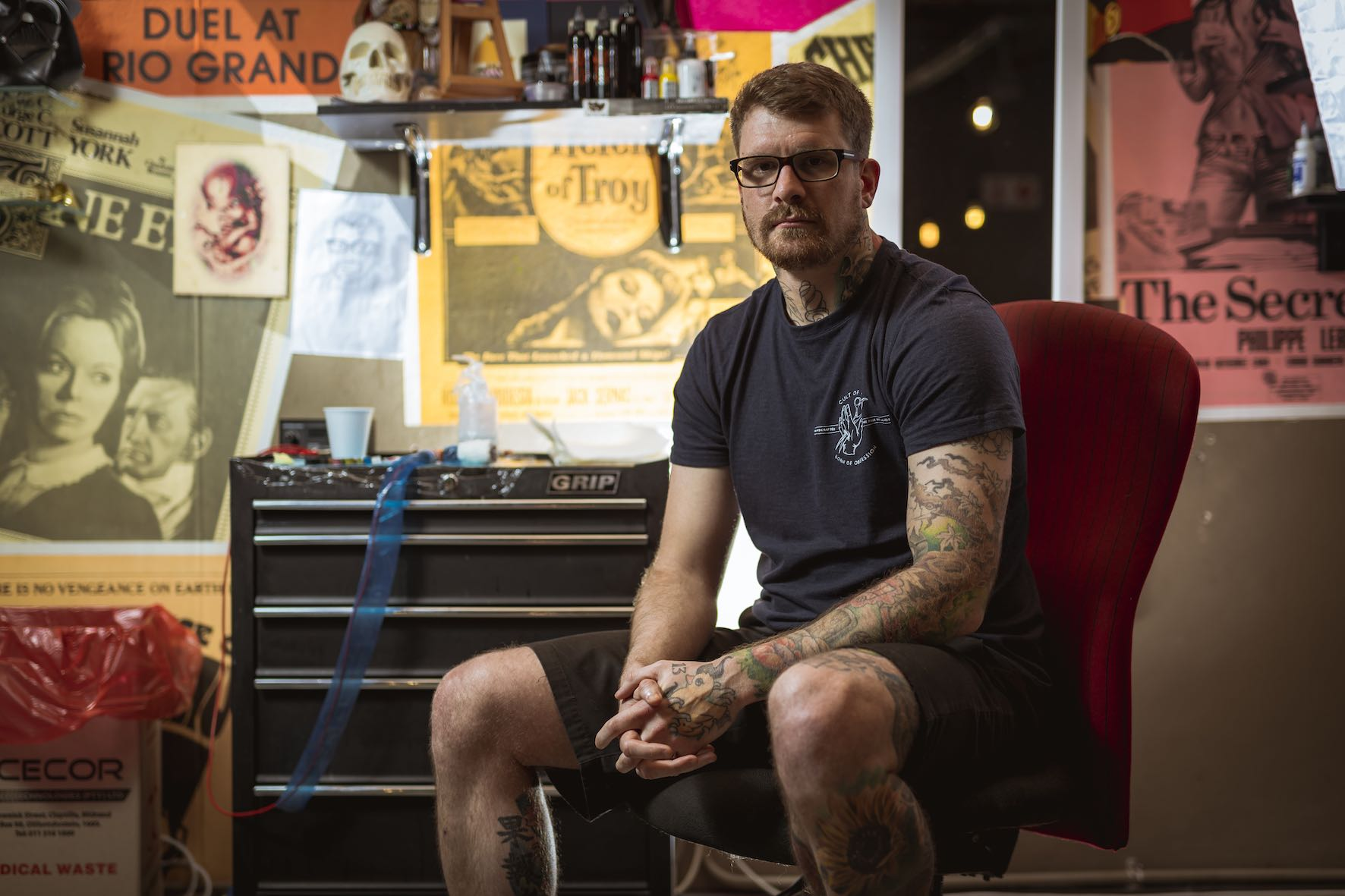 Meet Dean Clarke as our Tattoo Artist of the Week