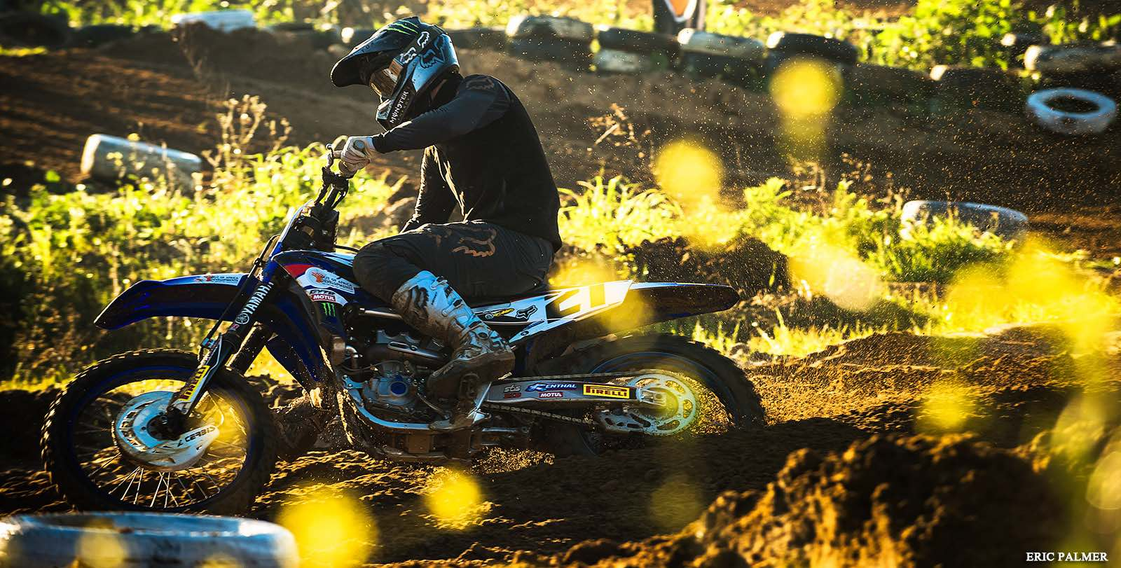 David Goosen racing his way to 2nd place at the Motocross Nationals id Cape Town