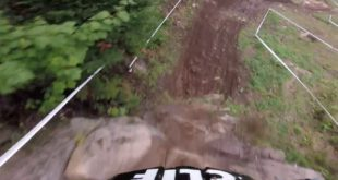 Greg Minnaar marks his return to the 2018 Downhill MTB World Cup circuit at the infamous Mont Sainte Anne. Take a POV run with the G.O.A.T down a very slick and wet course.