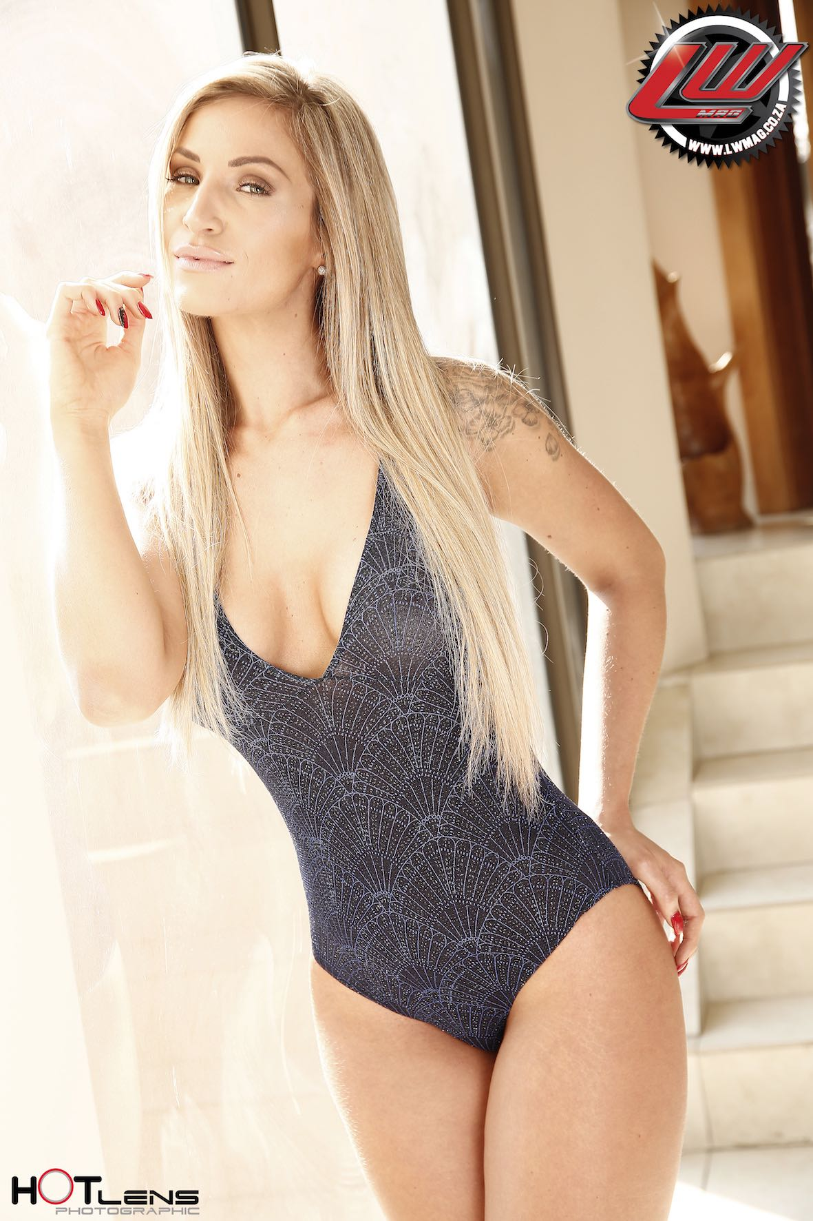 Our South African Babe feature with Kayla Grover