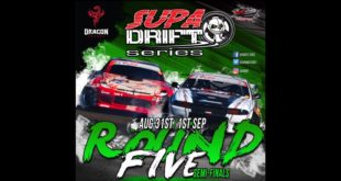 Details for Round 5 of the SupaDrift Series taking place at Dezzi Raceway in Port Shepstone.