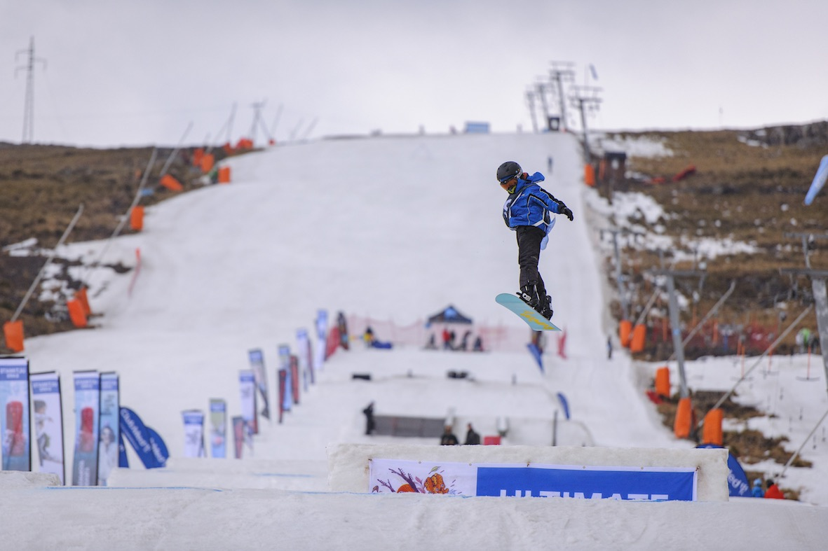 Newcomer junior takes to the Ultimate Ears Winter Whip park and claims 2nd