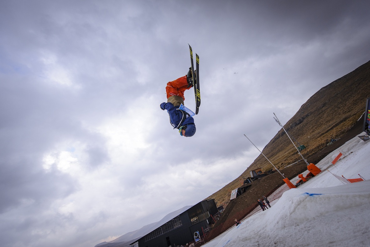 JTK competing in the Skiing Division at Ultimate Ears Winter Whip