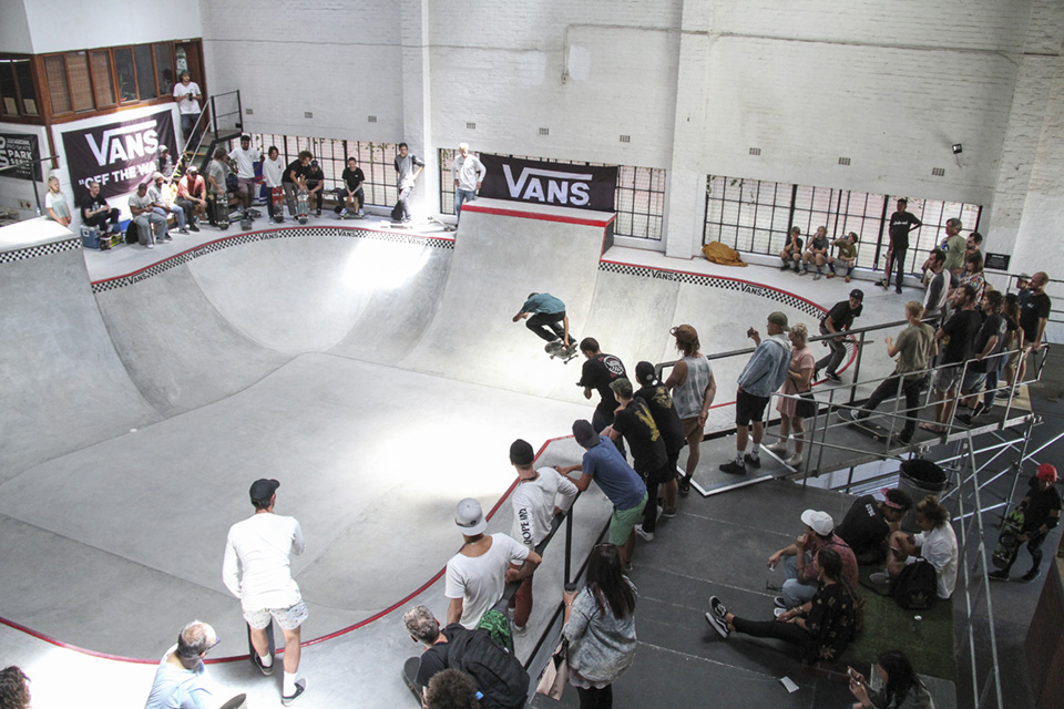 Details for the 2018 Vans Park Series Africa Continental Skateboarding Championships taking place in Cape Town