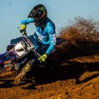 Tristan Purdon racing his way to victory at the Motocross Nationals