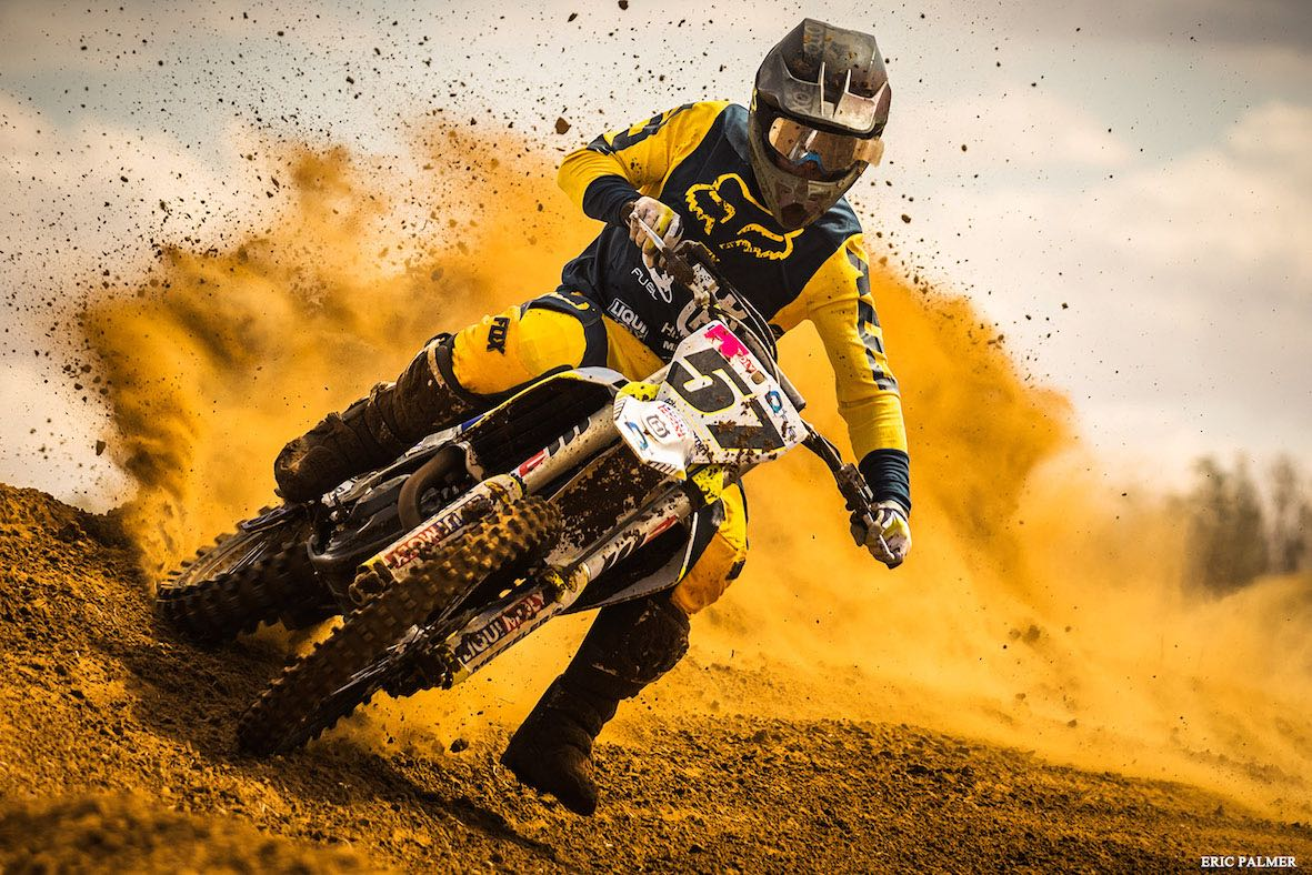 Race report from the Motocross Nationals held in Welkom
