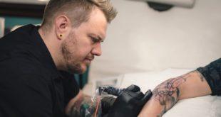 Tattoo Artist Adam Megens