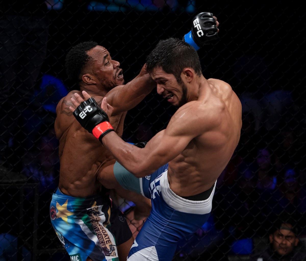 EFC Interim Welterweight Title Fight between Gunther Kalunda and José Da Rocha