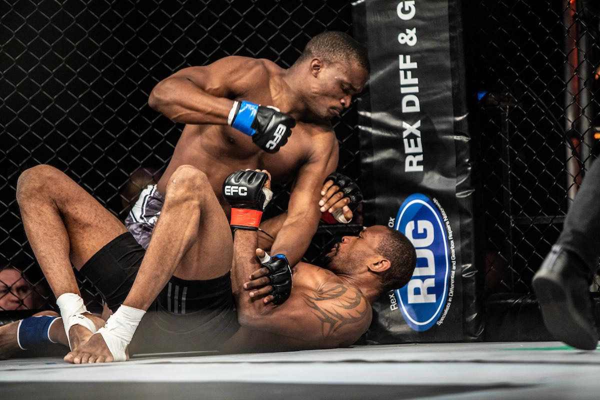 MMA action at its best from EFC 73 at Sun City