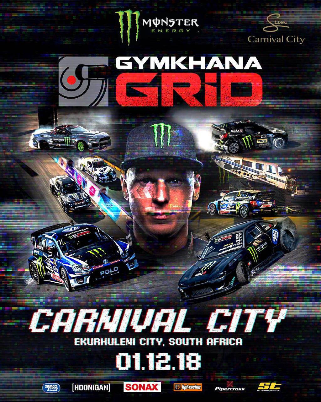Gymkhana GRiD Returns to Carnival City in South Africa for 2018