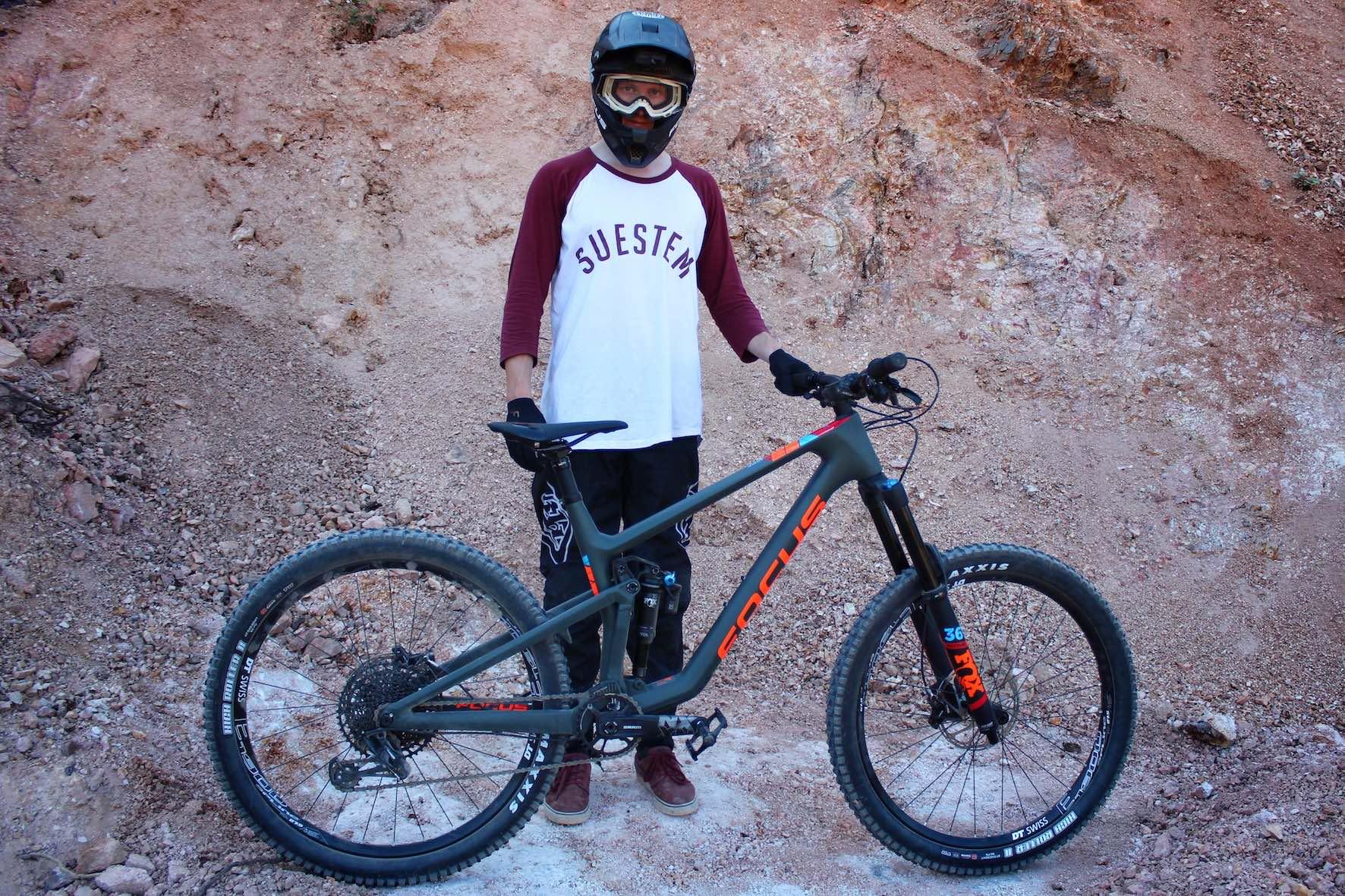 Iven Ebener Focus SAM Audi Nines bike
