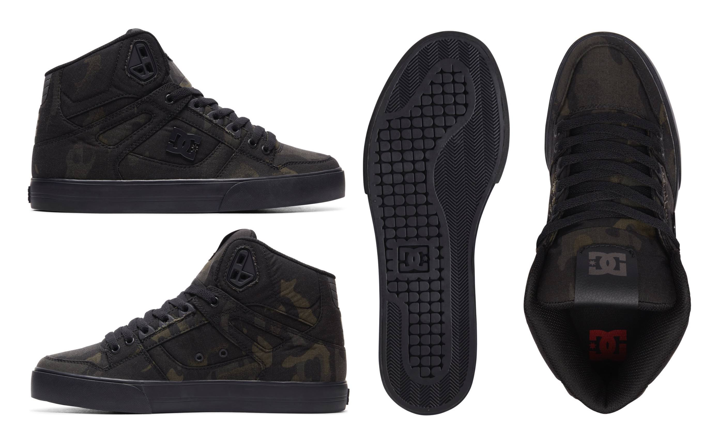 DC Shoes MultiCam PURE HITOP WC TX SE shoes