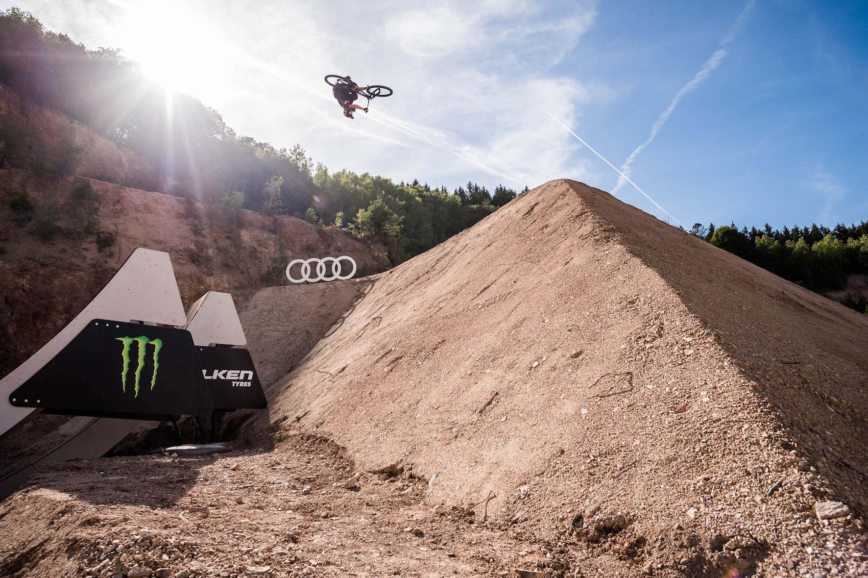 Interview with Nicholi Rogatkin on The Audi Nines 2018 Slopestyle MTB event