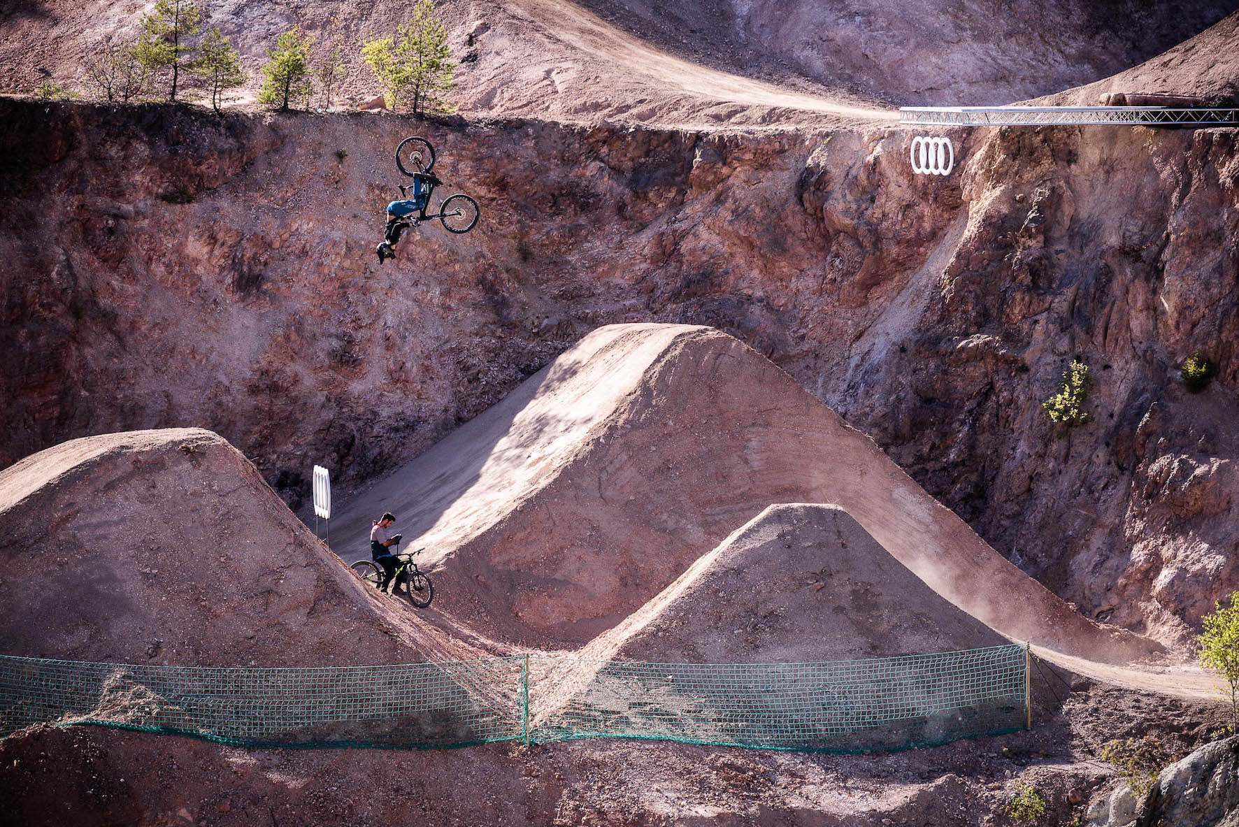 Interview with Freeride MTB rider Clemens Kaudela about Audi Nines 2018
