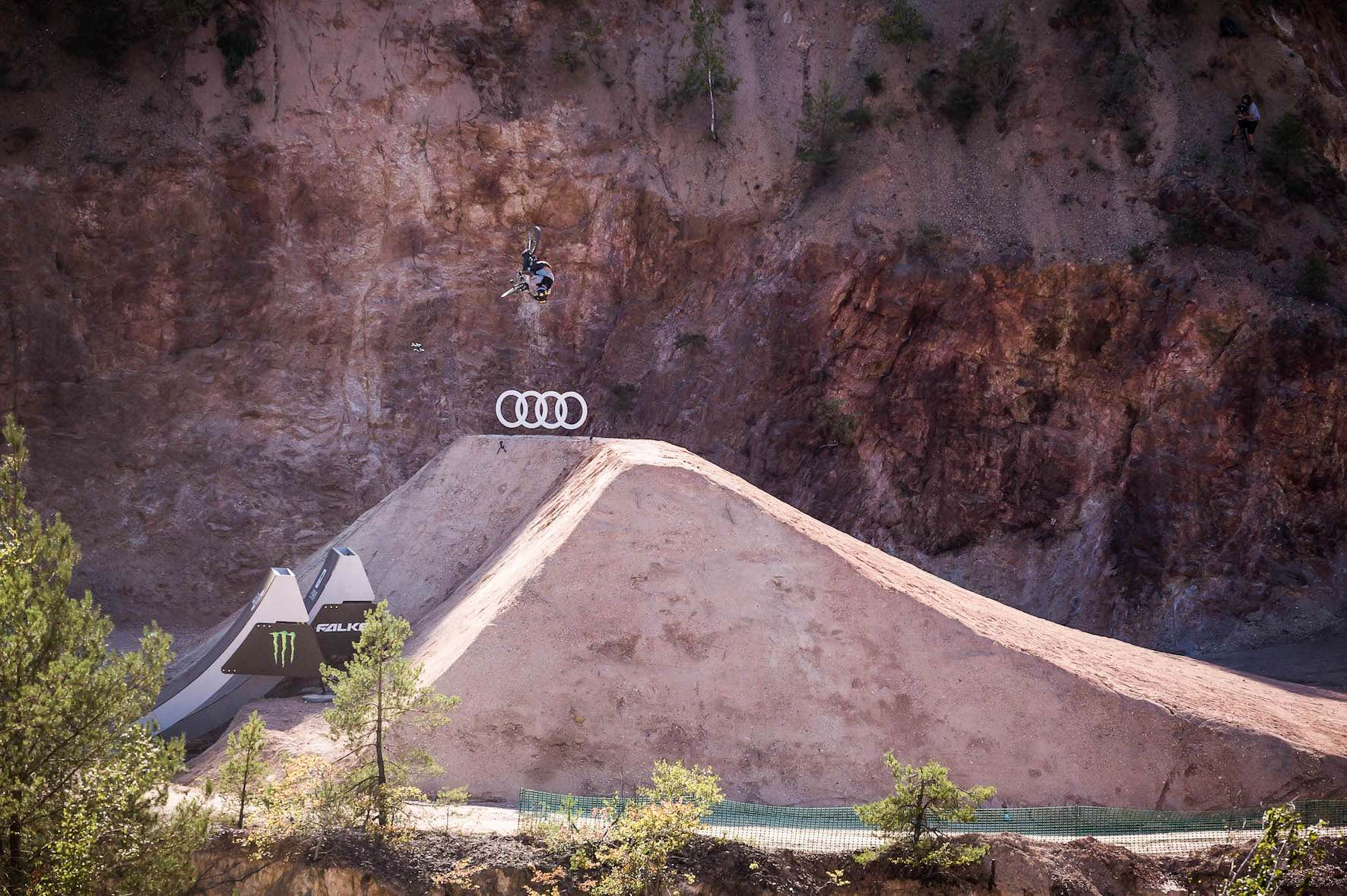 Patrick Schweika talks about the Audi Nines Slopestyle MTB event