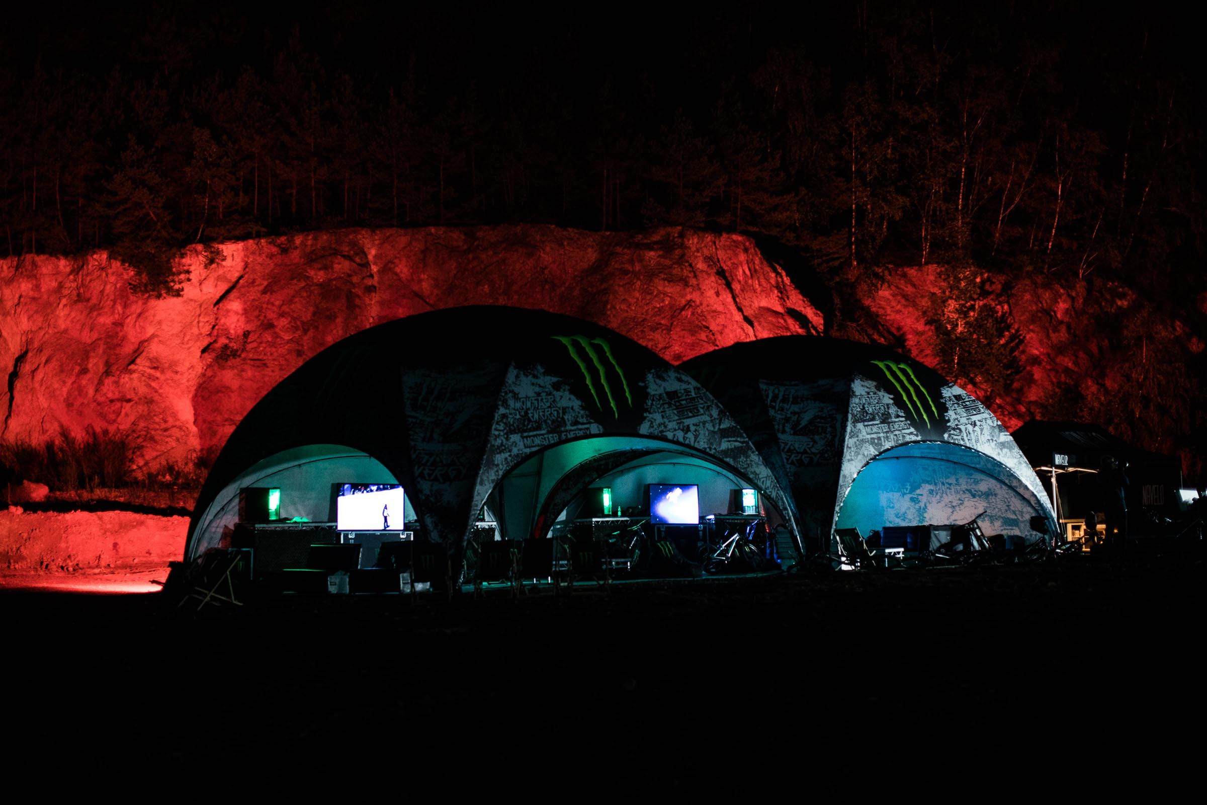 The Moon provided perfect backdrop for the 8th edition of The Audi Nines Mountain Bike event