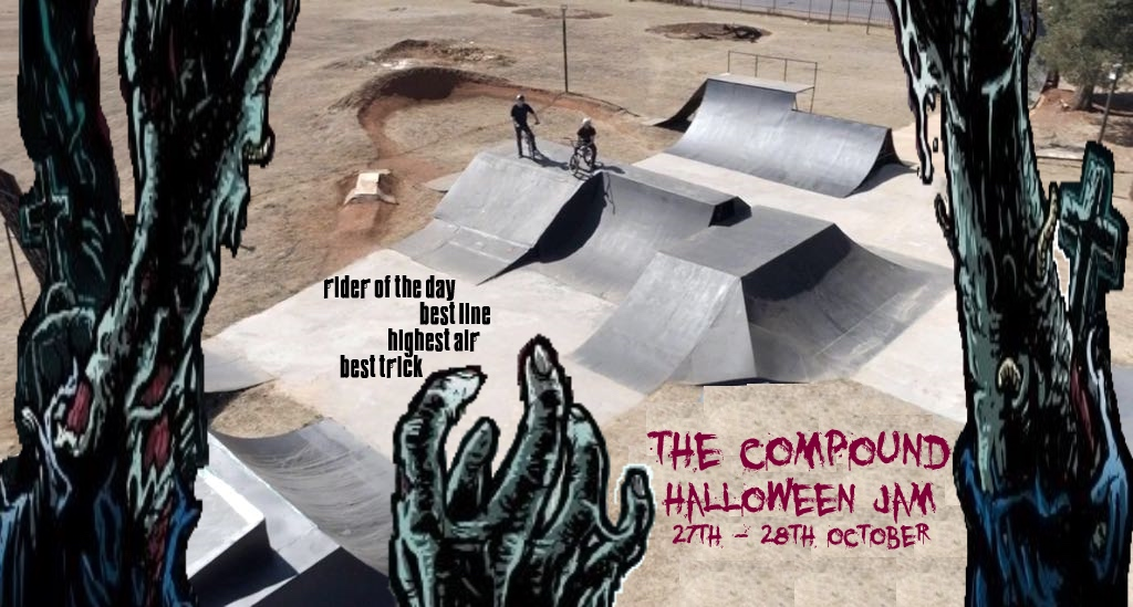 The first BMX contest to be held at The Compound SkatePark in Benoni, Joburg is set to take place on 27 and 28 October 2018.