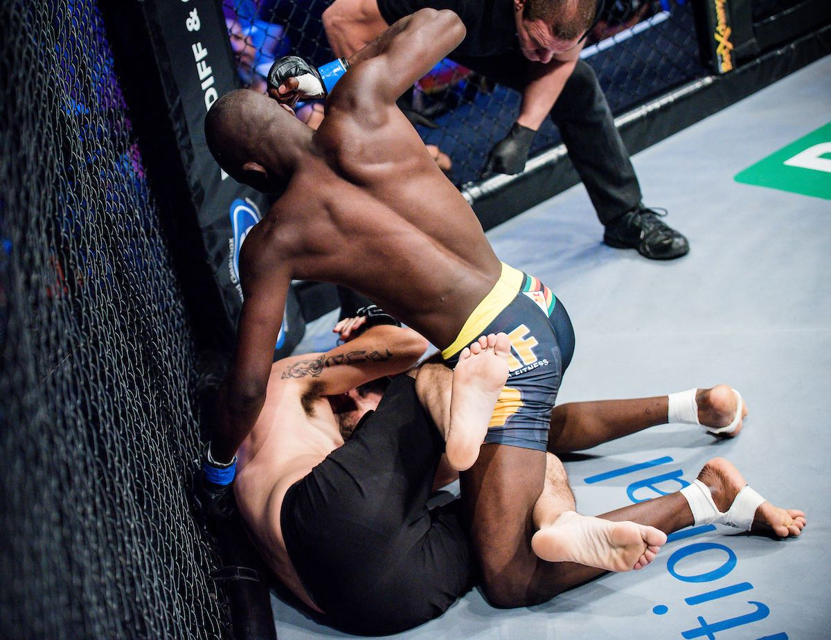 Mixed Martial Arts action from EFC 74 held at Carnival City in Johannesburg