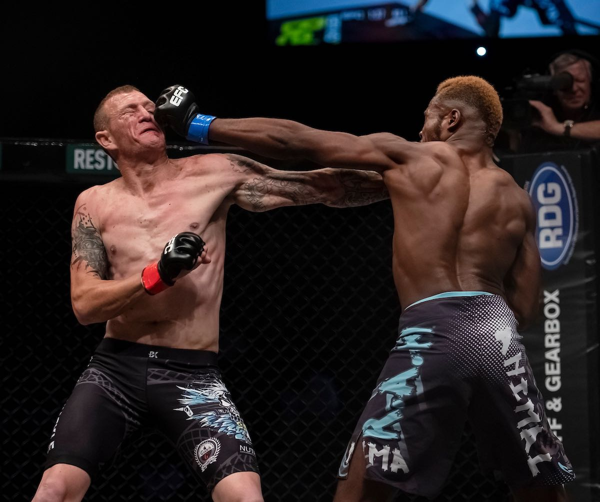 Results from all 11 MMA fight from EFC 74