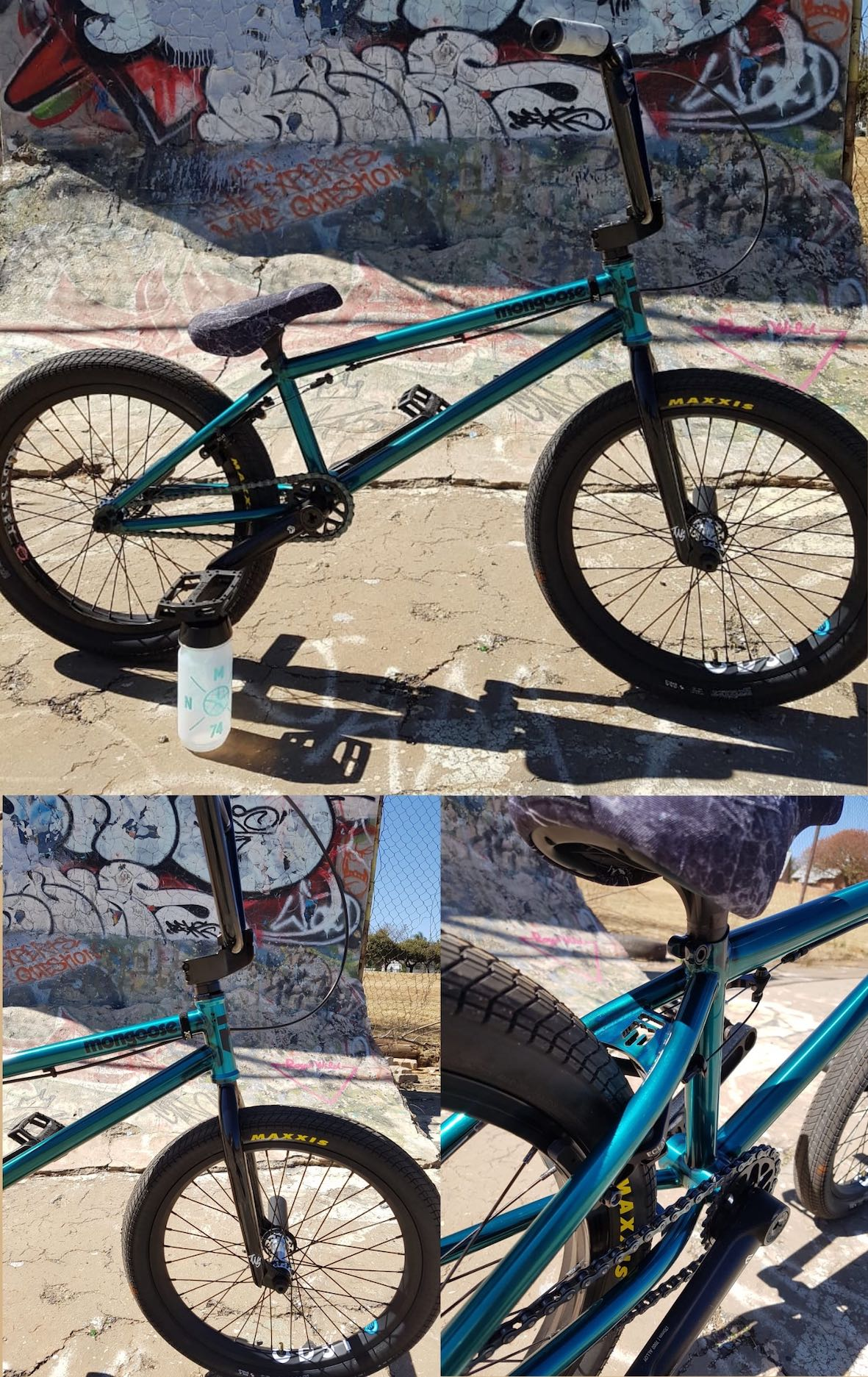 Mongoose BMX Team Edition bike check with Francois Bodenstein