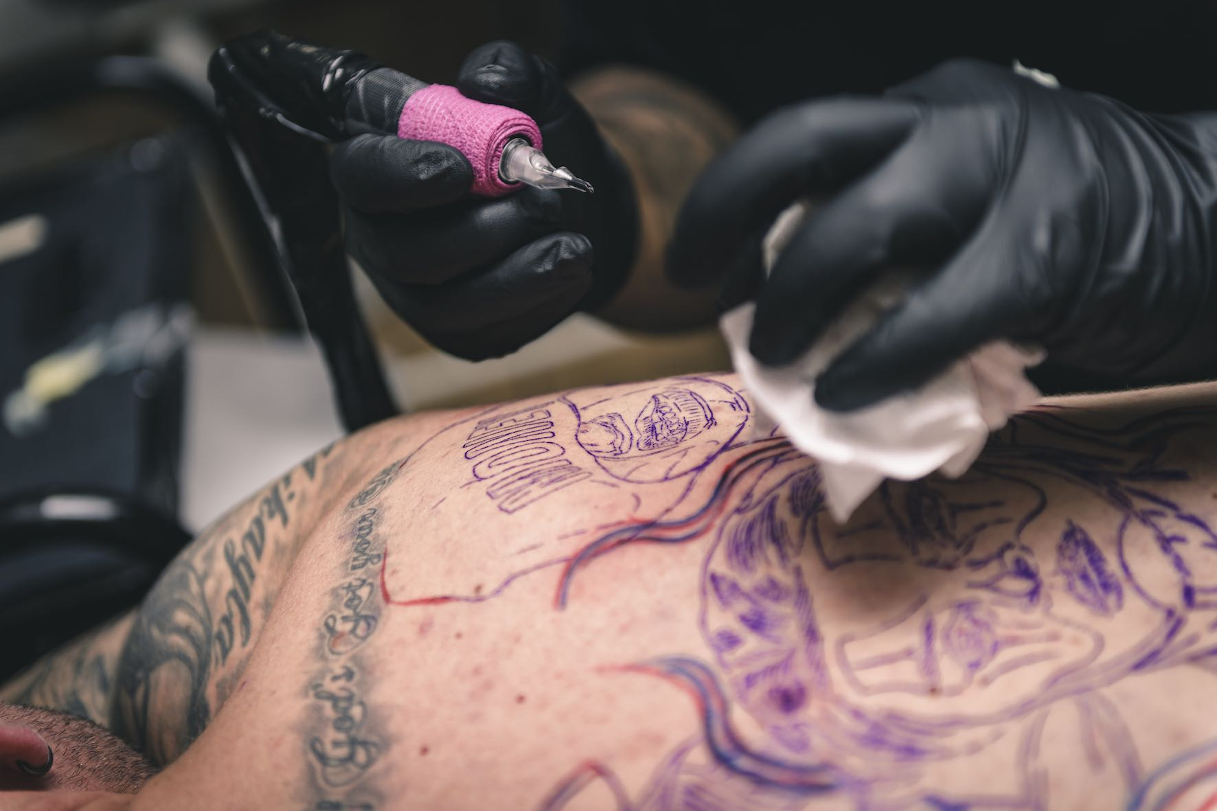 Get to know tattoo artist, Kyle Beyers