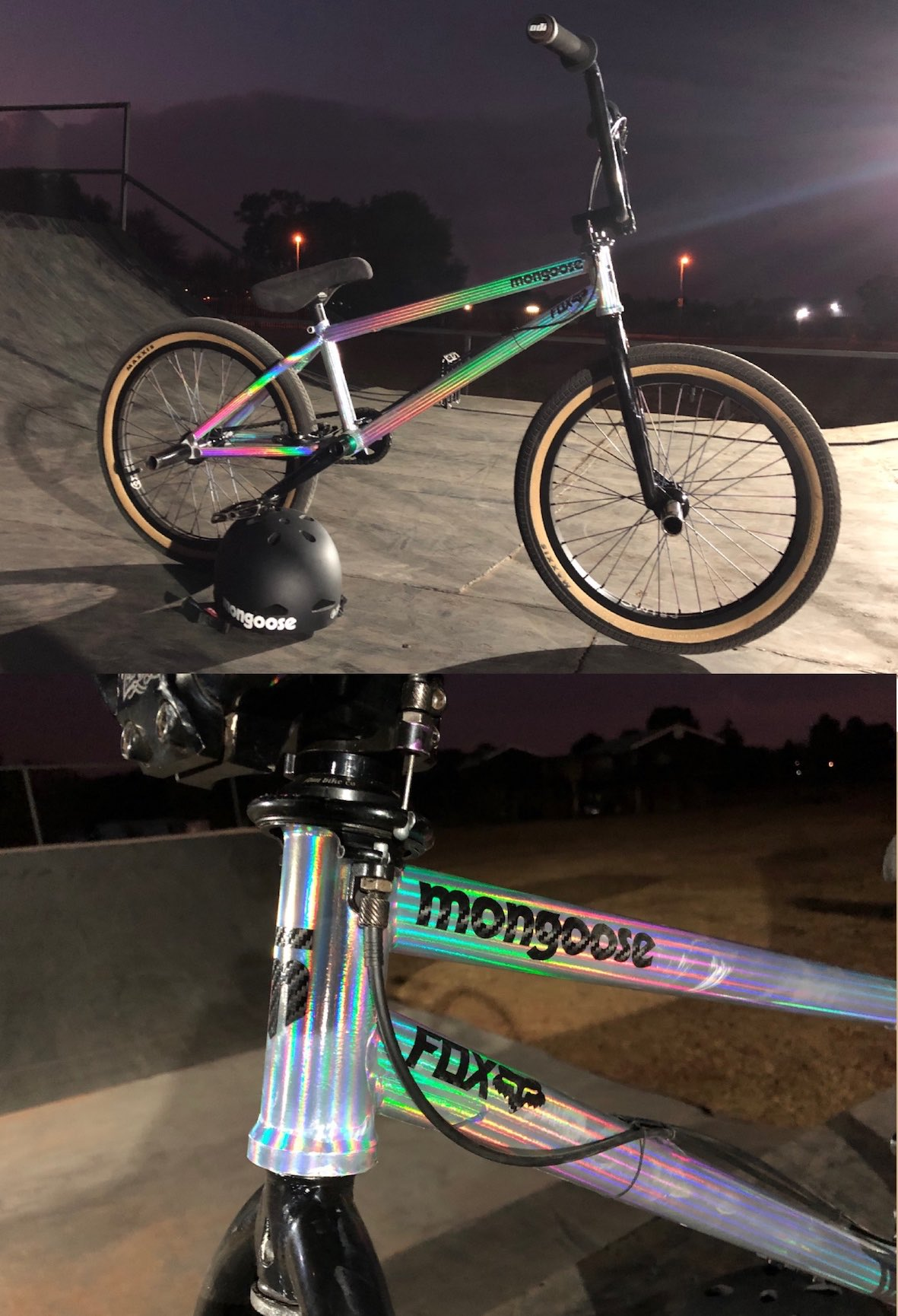Mongoose BMX Team Edition bike check with Matty Duffy