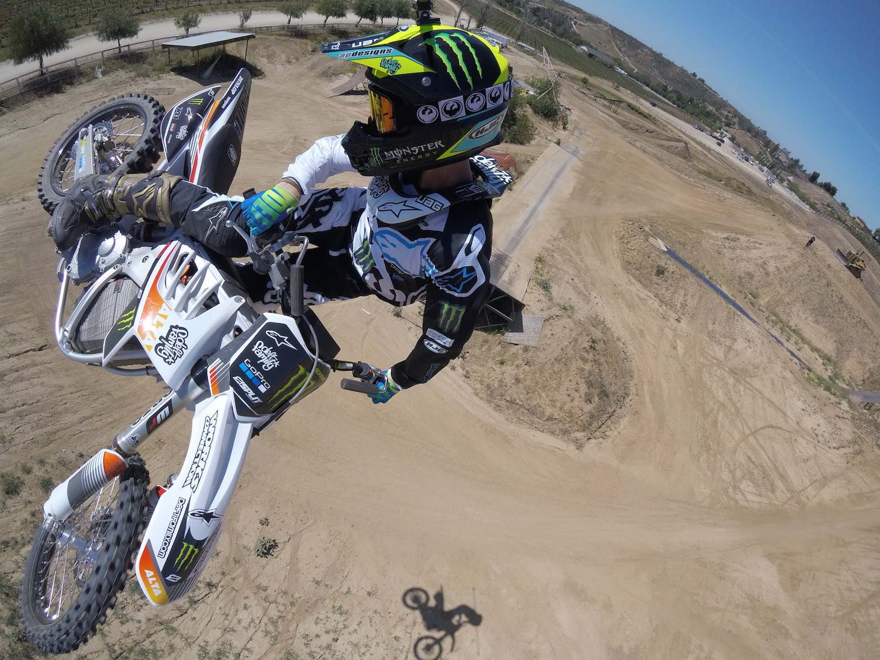 Interview with FMX rider Nate Adams