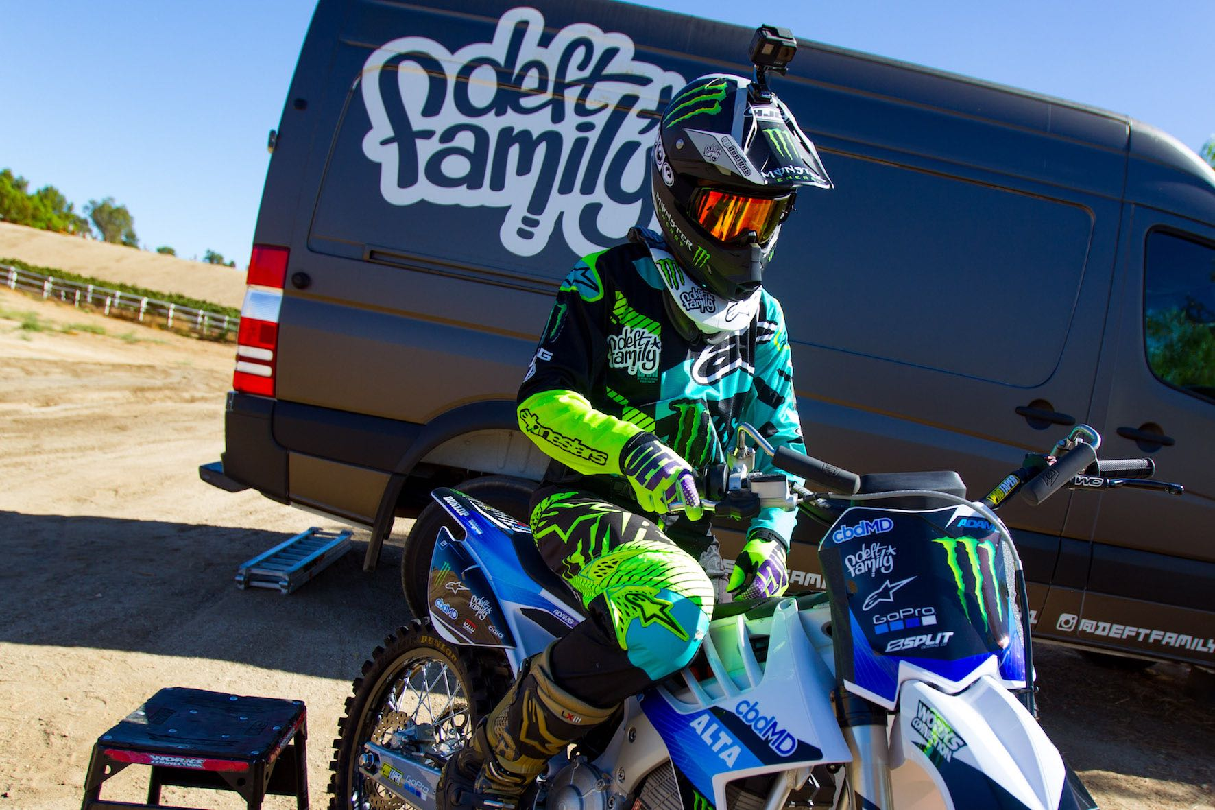 Interview with Freestyle Motocross rider Nate Adams