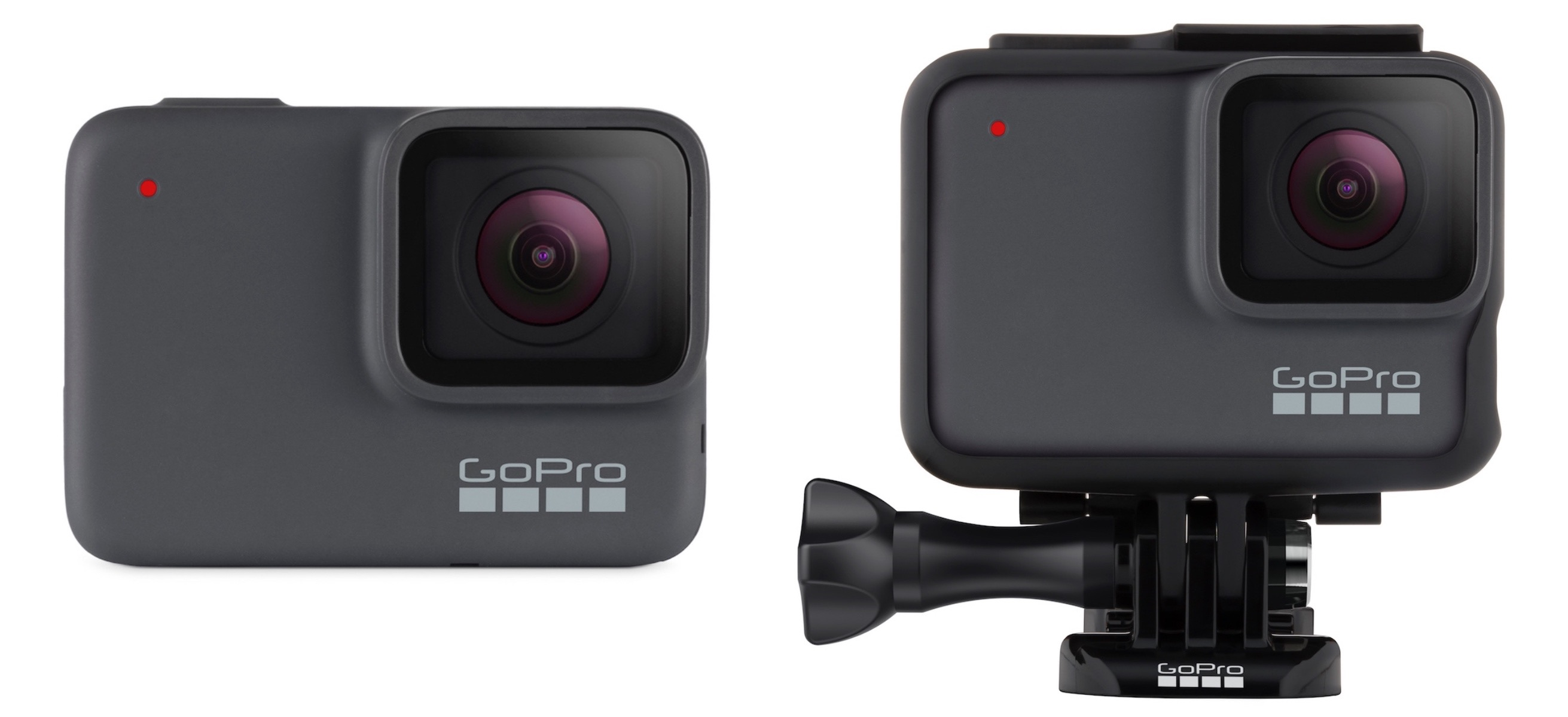 The new GoPro HERO7 Silver