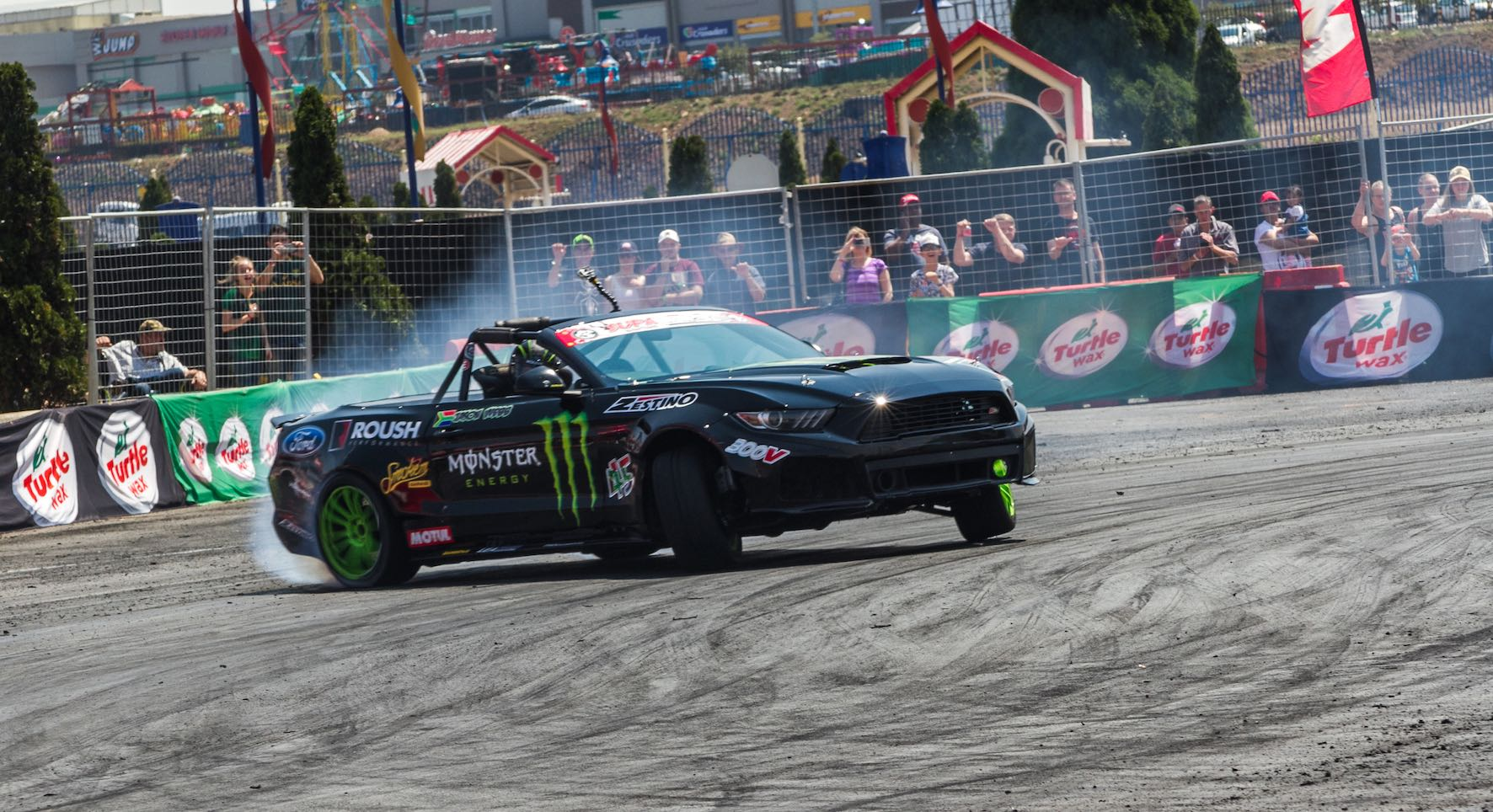 Drifting action at its best from Round 6 of the 2018 SupaDrift Series