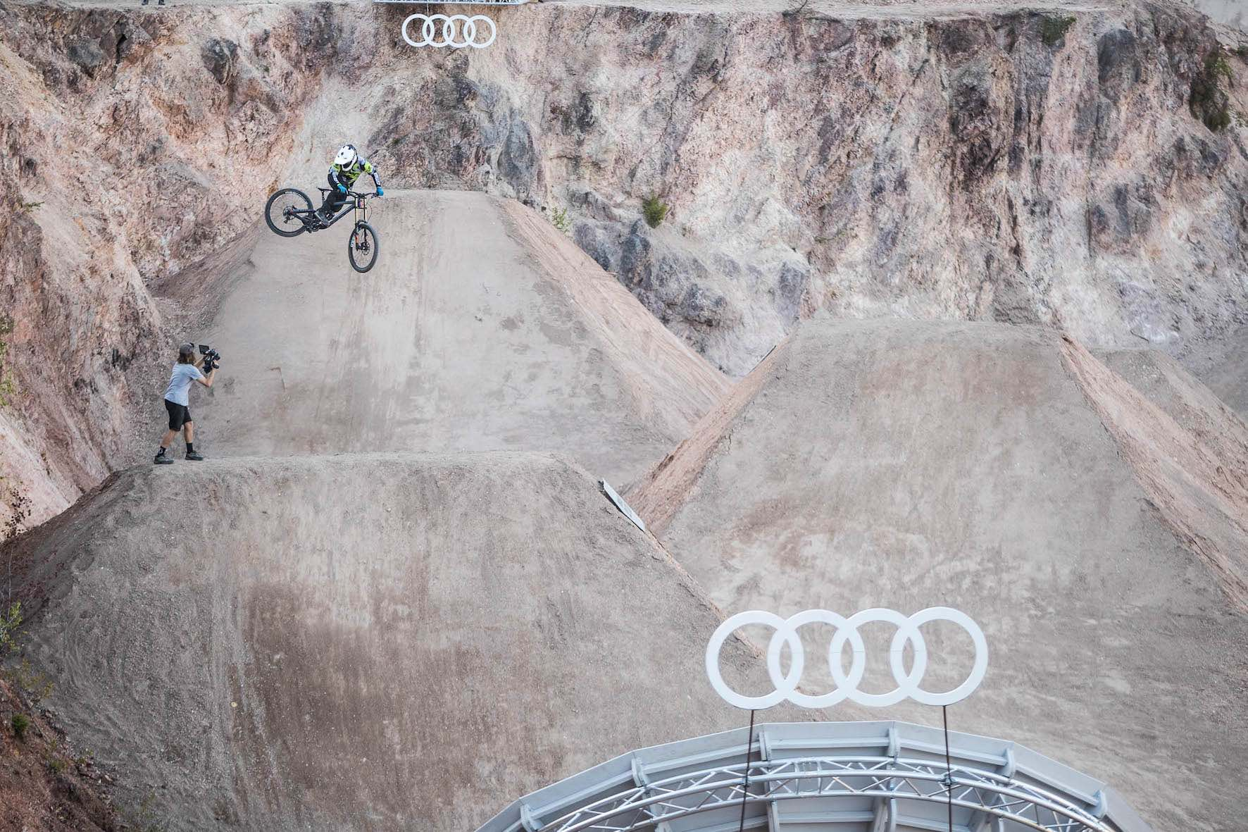 Interview with Freeride MTB rider Blake Samson about Audi Nines 2018