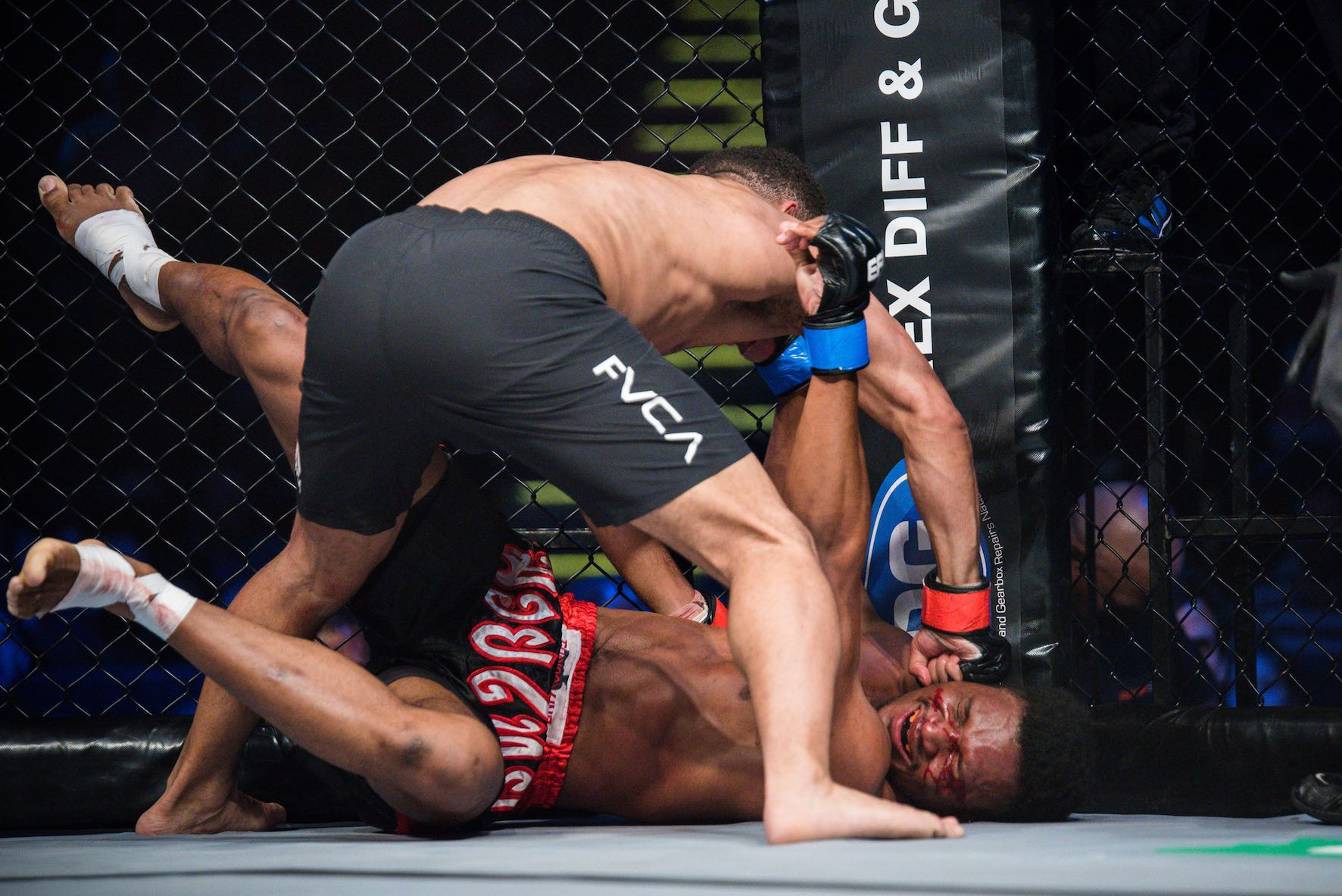 Results from all 11 Mixed Martial Arts bouts from EFC 75