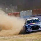 Mattias Ekstrom finishes in 2nd at the 2018 World RallyCross of South Africa